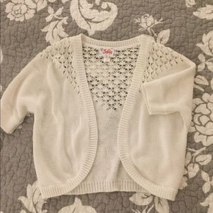 Justice girls size 6/7 sweater.